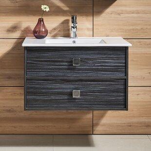 Forest 32 Wall-Mounted Single Bathroom Vanity Set ByIvy Bronx