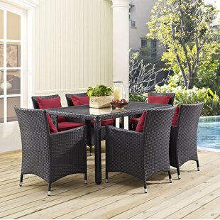 Latitude Run Khadar 7 Piece Dining Set