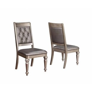 Krista Side Chair (Set Of 2) by Rosdorf Park Comparisont