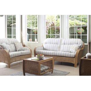 Review Darrow 4 Piece Conservatory Sofa Set
