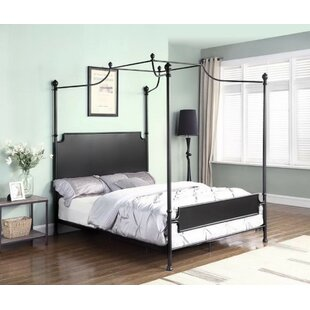 Read Reviews Feickert Canopy Bed by Gracie Oaks Reviews (2019) & Buyer's Guide