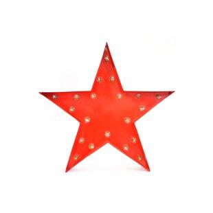 Outdoor star lights wayfair star 20 light indooroutdoor marquee light aloadofball Choice Image