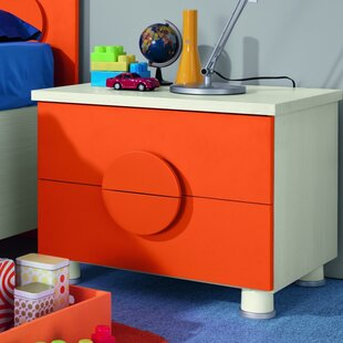Dave Kids 2 Drawer Nightstand by Zoomie Kids