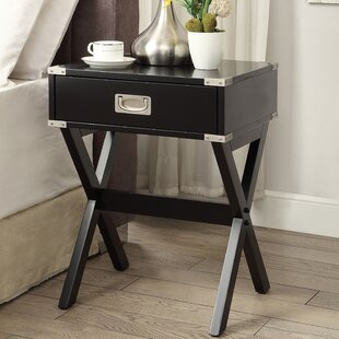 Grable End Table with Storage