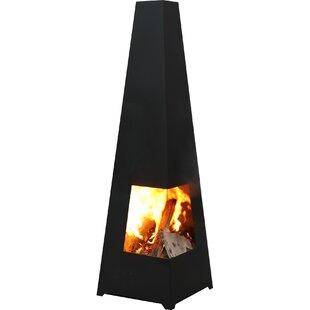 Buy Sale Rizo Steel Wood Chiminea