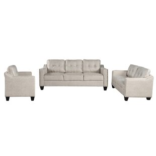 Vasios 3 Piece Standard Living Room Set by Red Barrel Studio