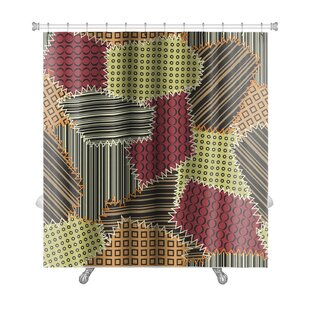 Beta with Patchwork Premium Single Shower Curtain