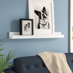 Picture Frame Floating Shelf
