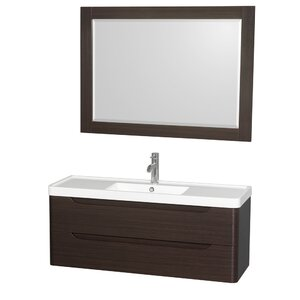 Murano 48 Single Bathroom Vanity Set with Mirror