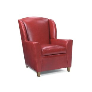 Lucy Wingback Chair by Leathercraft