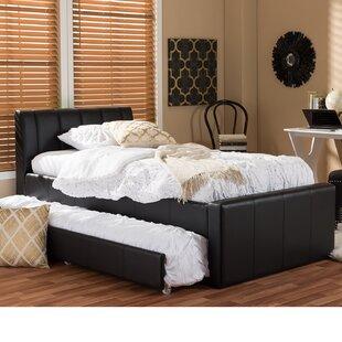 Viveros Twin Upholstered Platform Bed