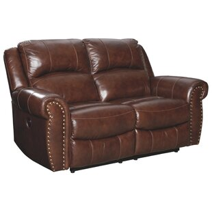 Pleasing Dunning Leather Reclining Loveseat Cjindustries Chair Design For Home Cjindustriesco