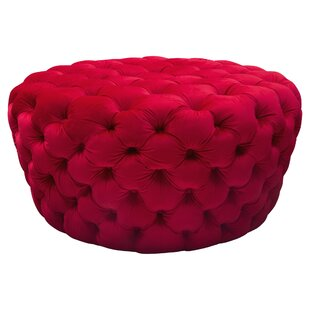 Diamond Sofa Posh Tufted Pouf