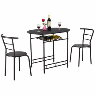 Hassinger 3 Piece Dining Set