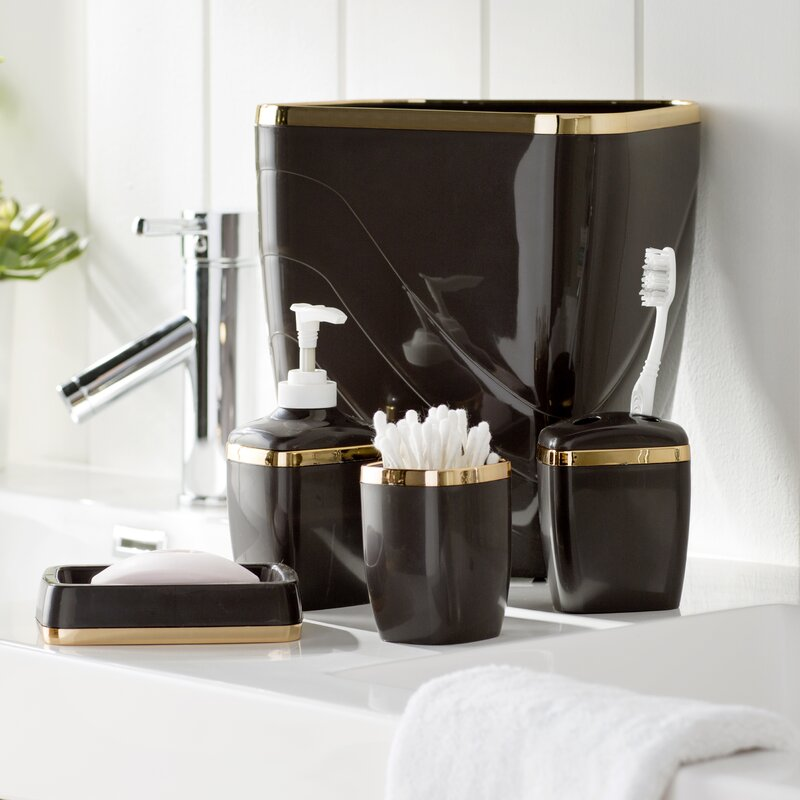Awesome Wayfair Basics Bathroom Accessory Set