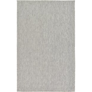 Jacklyn Light Gray Indoor Outdoor Area Rug