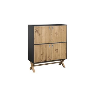 Teague 4 Door Accent Cabinet by Union Rustic