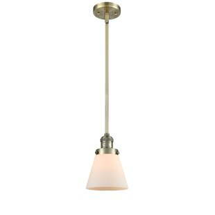 Breakwater Bay Hann 1-Light Cone Pendant