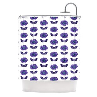 Gerbera Single Shower Curtain