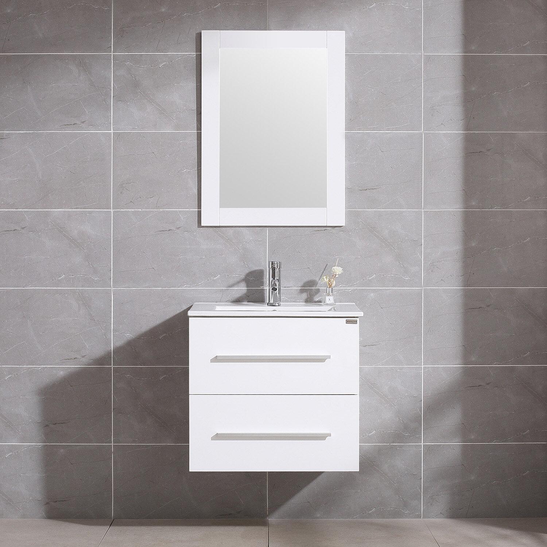 Single Wall Mount Bathroom Vanity