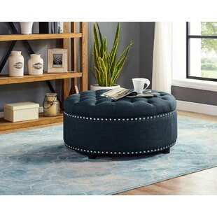 Freya Tufted Storage Ottoman by Charlton Home