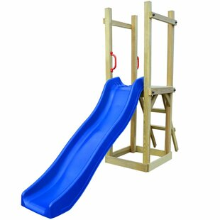 Playhouse With Slide Ladder By Freeport Park