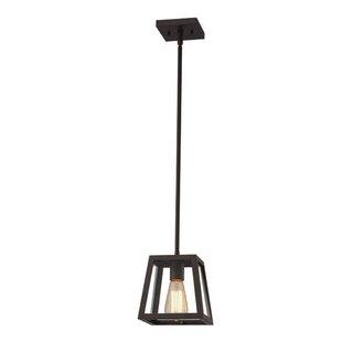 Williston Forge Allena 1-Light Lantern Pendant