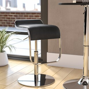 Crites Adjustable Height Swivel Bar Stool..