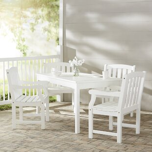 Darby Home Co Mahler 5 Piece Dining Set