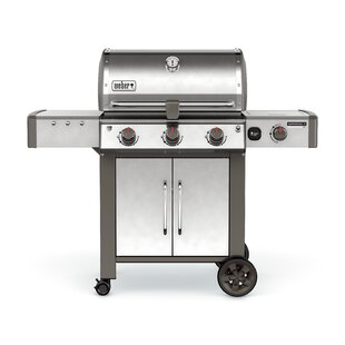 Genesis II LX S-340 3-Burner Natural Gas Grill With Side Burner By Weber
