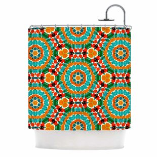 Buying 'Hexagon Tiles' Shower Curtain ByEast Urban Home