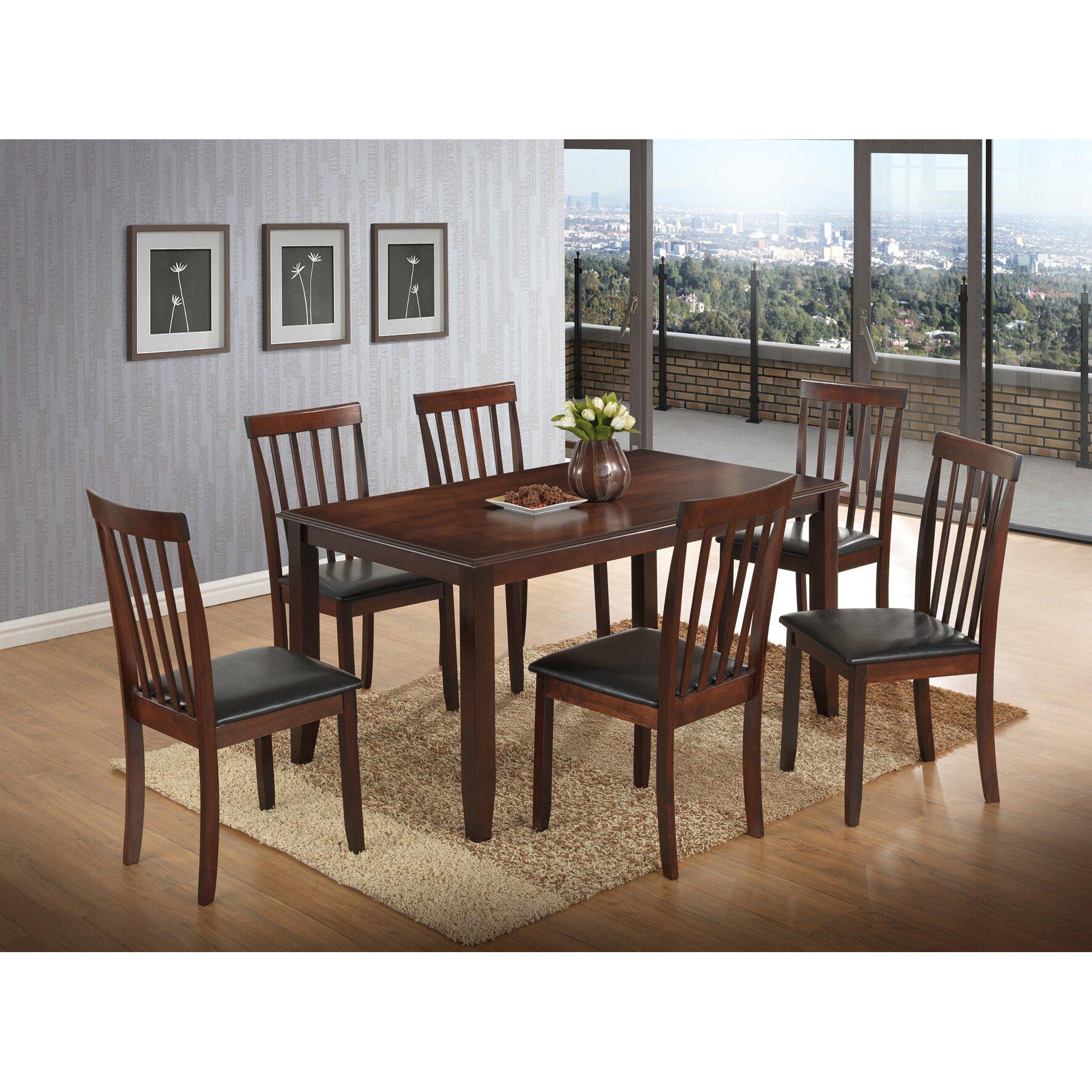 Best Quality Furniture  Piece Dining Set  Reviews Wayfair - Best quality dining room furniture