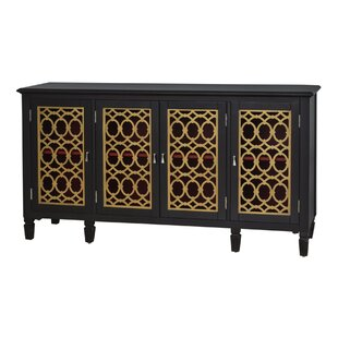 Agastya 4 Door Accent Cabinet by World Menagerie