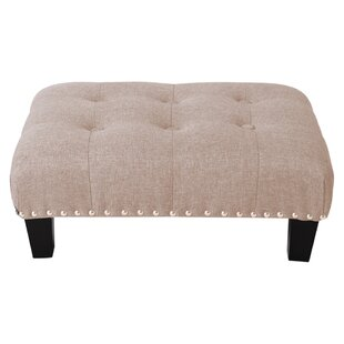 Burns Footstool By Marlow Home Co.