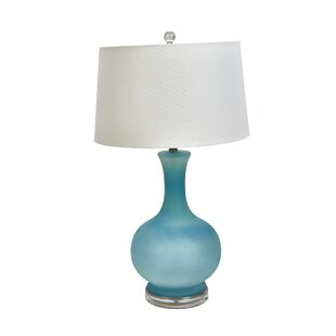 Ledger Glass Round 31 Table Lamp
