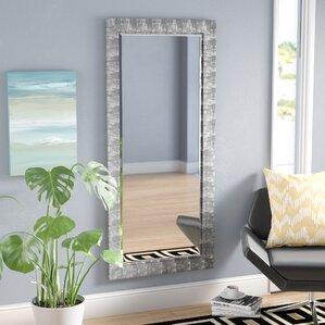 Grain Texture Beveled Wall Mirror Part 50