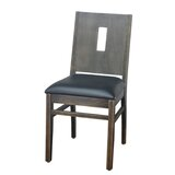 Side Chair in Black by DHC Furniture