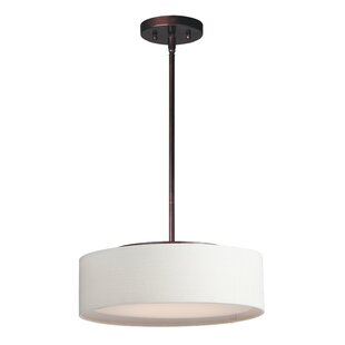 Elginpark 3-Light LED Drum Chandelier by Orren Ellis
