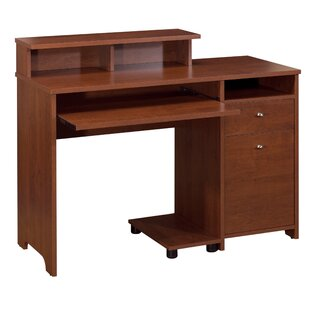 Bestar Legend Computer Desk with Hutch