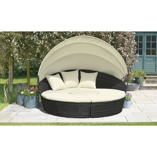 Freemansburg Garden Daybed With Cushions By Sol 72 Outdoor