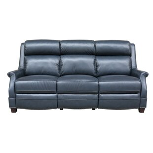 Cheadle Leather Reclining Sofa
