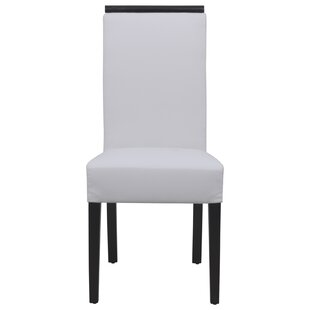 Online Reviews Santana Contemporary Upholstered Dining Chair by Orren Ellis Reviews (2019) & Buyer's Guide