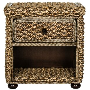 Bay Isle Home Plume 1 Drawer Nightstand