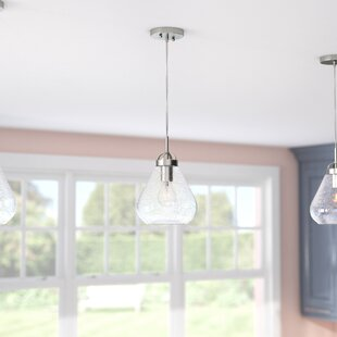 Zipcode Design Clarissa 1-Light Bell Pendant