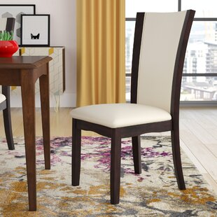 Folmar Side Upholstered Dining Chair (Set of 2) Latitude Run