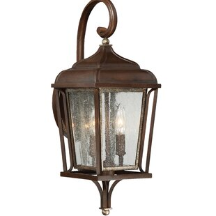 Gracie Oaks Serge 2-Light Outdoor Wall Lantern