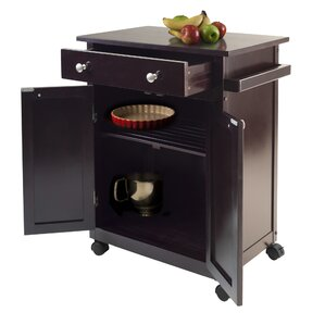 Savannah Kitchen Cart by Luxury Home