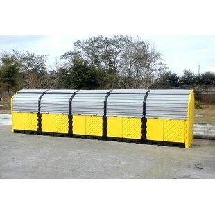 Hard Top 20 Drum Model 55 Gallon Hazardous Material Receptacle