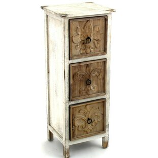 Parthenay 3 Drawer Accent Chest by One Allium Way