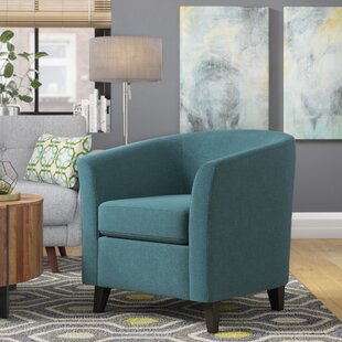 Affordable Price Dorset Barrel Chair By Latitude Run